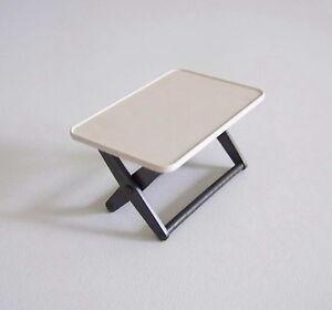 Playmobil v119 camping table pliante blanche camping - Table pliante pour camping car ...
