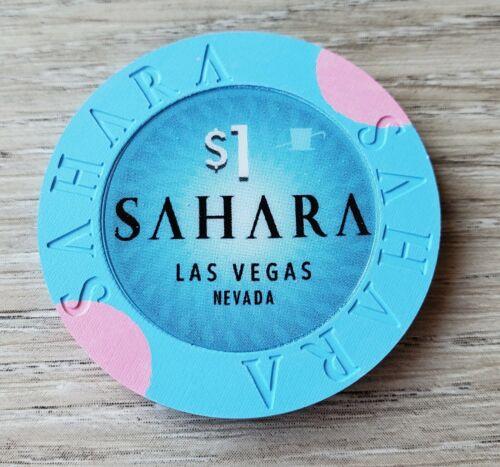$1 Las Vegas Sahara Casino Chip - Mint