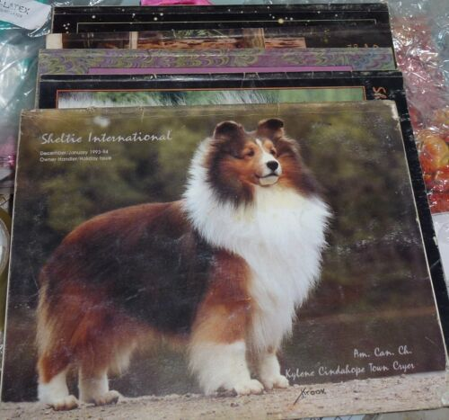 Sheltie International magazine 1994 - 5 issues