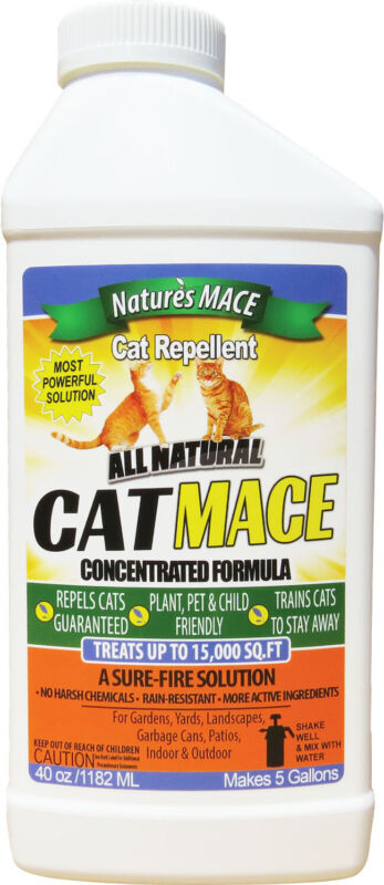 Nature's Mace Cat Repellent 40oz Concentrate