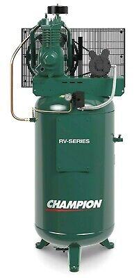 Champion Vrv5-8 5hp1ph 80 Gallon 2 Stage Usa Made Best Seller 19.1cfm