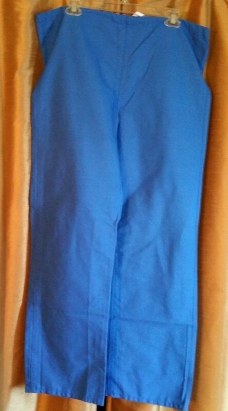 Women's Scrub, Solid Blue pants by Medline, Size Small