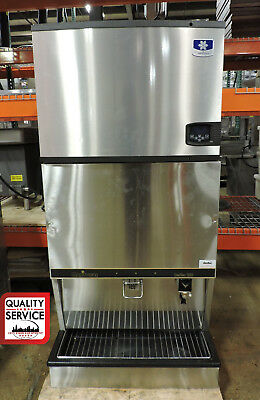 Manitowoc Iy0606w-261 Csa261bs Commercial 12 Cube Ice Machine Dispenser