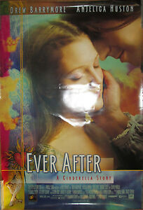 EVER AFTER: A Cinderella Story, movie promo poster, 1998 ...