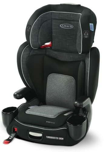 Graco Baby TurboBooster Grow Highback Booster Car Seat Child Safety West Point