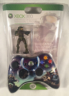 Small Edition Halo 3 Spartans Official Xbox 360 Wireless Controller NEW/SEALED