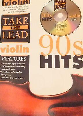 Take the Lead Violin 90s Hits inc CD
