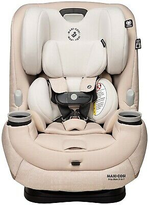 Maxi-Cosi Pria Max 3-in-1 Convertible Car Seat Child Safety Nomad Sand NEW