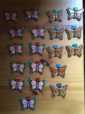 Vintage Tin Whistles Butterfly Whistles Vintage Toys
