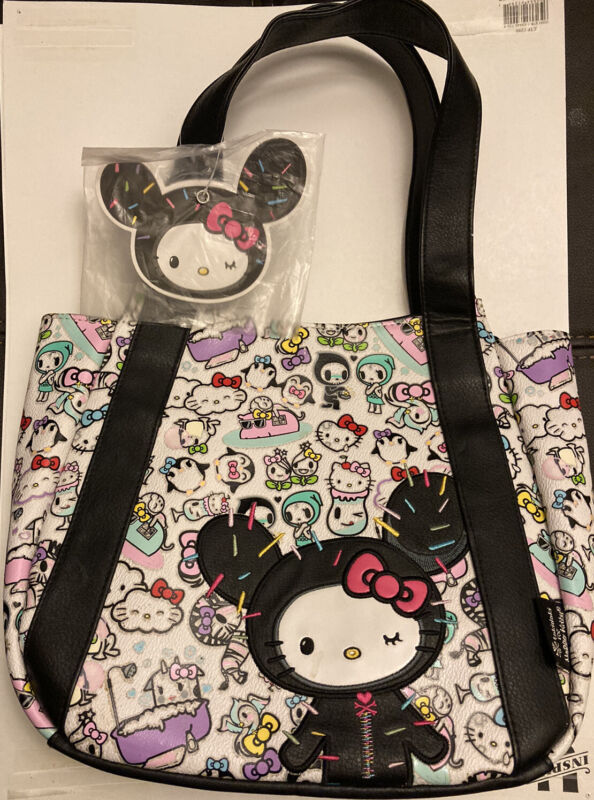 Hello Kitty Tokidoki NEW Purse Bag With Used Wallet