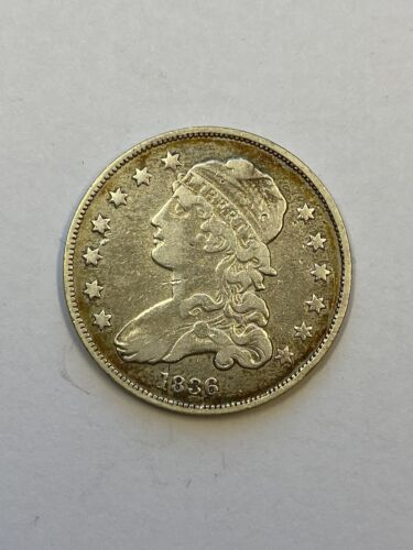1836 Capped Bust Quarter.! Uncertified.!