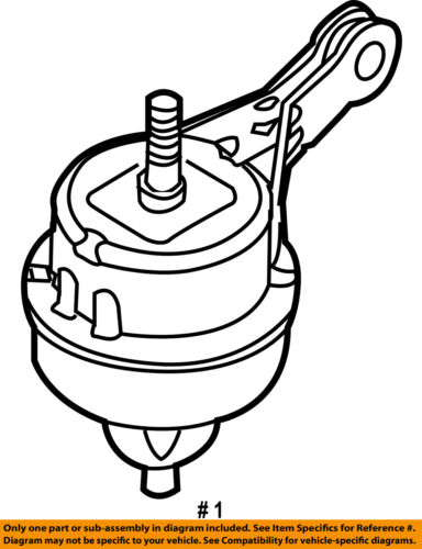 Mini Oem 04 06 Cooper Engine Motor Mount Torque Strut 22116778610