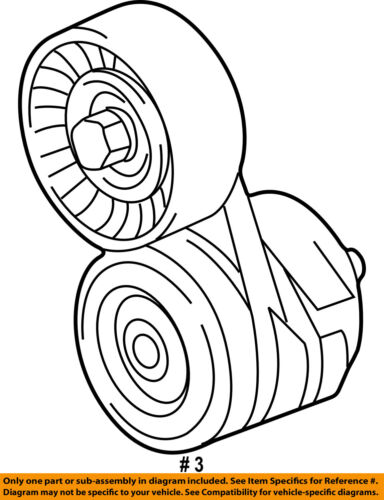 jaguar oem 98 02 xj8 serpentine drive fan belt tensioner nca7739ae  seller payment information