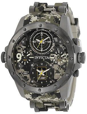 Invicta Men's 31967 U.S. Army Quartz Chronograph Gunmetal, Camouflage, Dar Watch