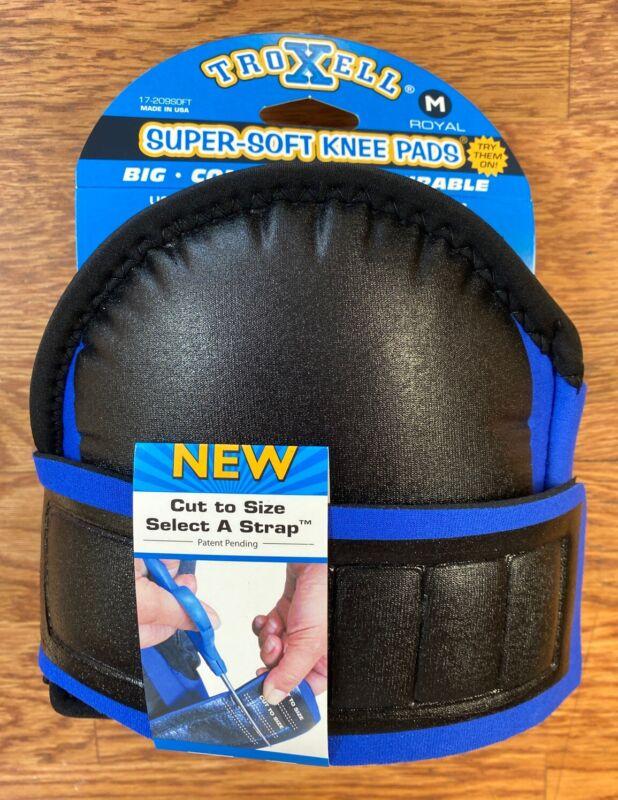 Troxell Royal Blue SuperSoft Regular Flooring Kneepads