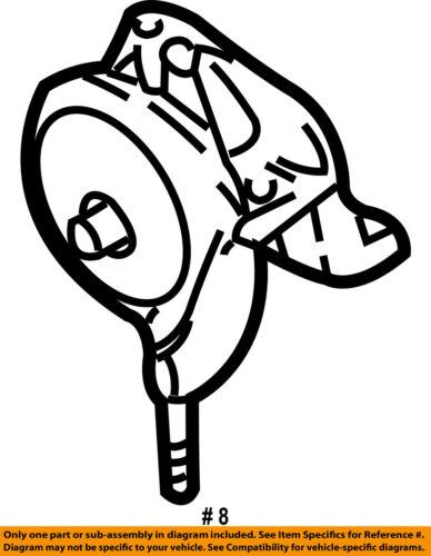 Nissan Oem Engine Motor Mount Torque Strut 112102y00e
