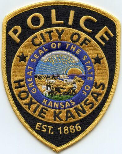 HOXIE KANSAS KS POLICE PATCH