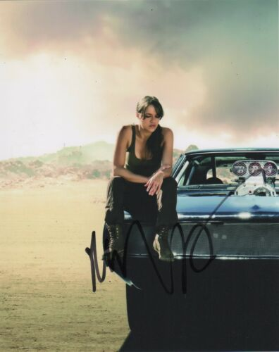 Michelle Rodriguez Fast and Furious Autographed Signed 8x10 Photo COA #E7Z