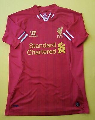 7a34528c8 4.8 5 Liverpool jersey small 2013 2014 home shirt Warrior soccer football  ig93