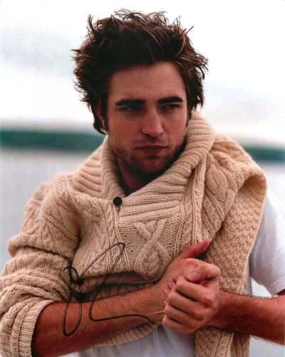 Robert Pattinson Signed 8x10 Photo EXACT Proof Lighthouse King Batman