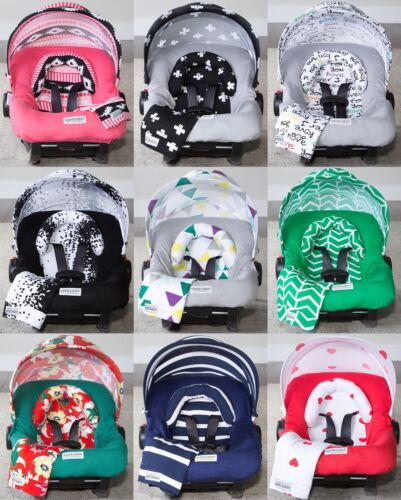 Canoy Couture 5 Pc Cover for Baby Car Seat Stretch Whole Caboodle Canopy Set