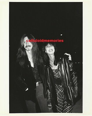Original Photo Cher of Sonny & Cher & Les Dudek at The Comedy Store