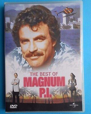 film,2 dvd,magnum pi,the best of magnum p.i.tom selleck movie john hillermann