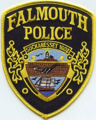 FALMOUTH MASSACHUSETTS MA Lighthouse POLICE PATCH