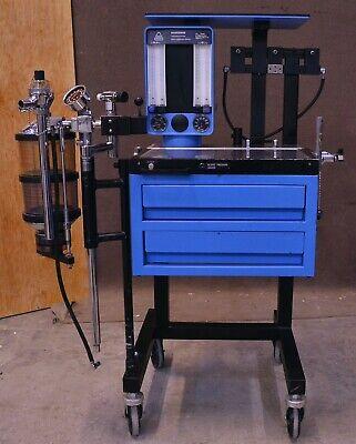 North American Drager Narkomed Anesthesia Machine System Isoflurane Vaporizer