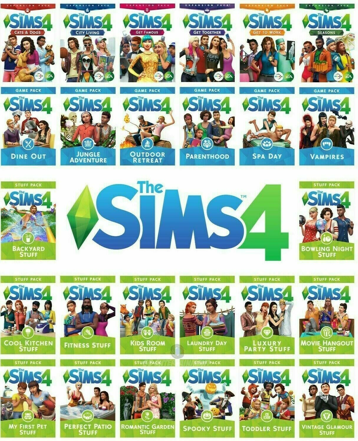 The Sims 4 ???? Origin Account ✅ Warranty ✅ All Expansion Packs ???? PC & Mac ⭐⭐⭐⭐⭐