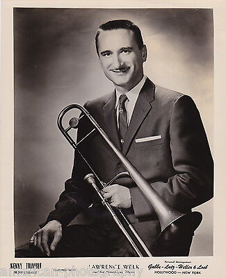 LAWRENCE WELK & HIS CHAMPAGNE MUSIC - 1950's * Kenny Trimble * Trombonist