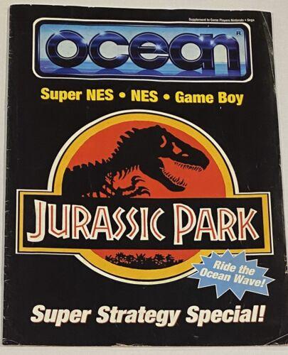 ULTRA RARE 1993 Jurassic Park NES SNES GAMEBOY Game Strategy Guide Ocean - $100.00