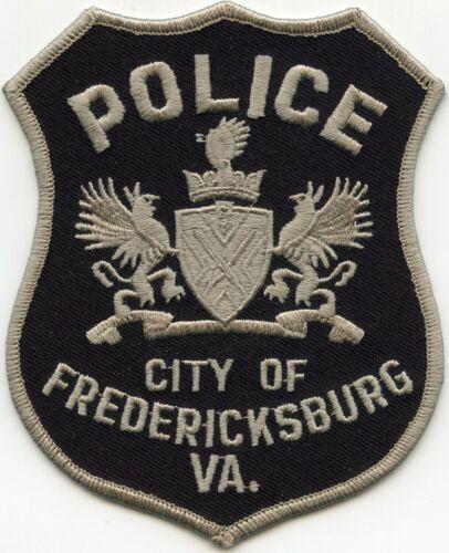 FREDERICKSBURG VIRGINIA VA subdued POLICE PATCH