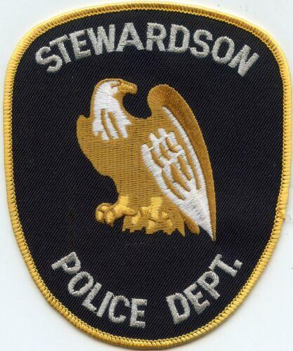 STEWARDSON ILLINOIS IL POLICE PATCH