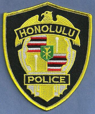 HONOLULU HAWAII POLICE PATCH