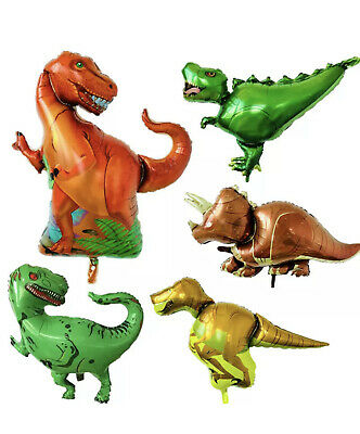 T Rex Birthday (Giant Dinosaur Foil Mylar Balloon Children Birthday Party)