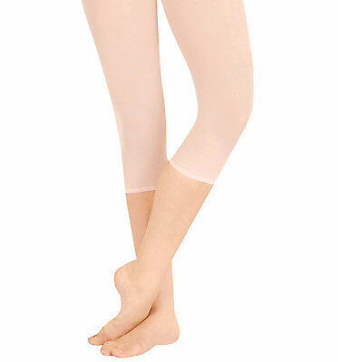 Hip Rider Capri Tights (Capezio Women's Ultra Soft Hip Rider Capri Dance Tights Style 1870 S/M, L/XL )