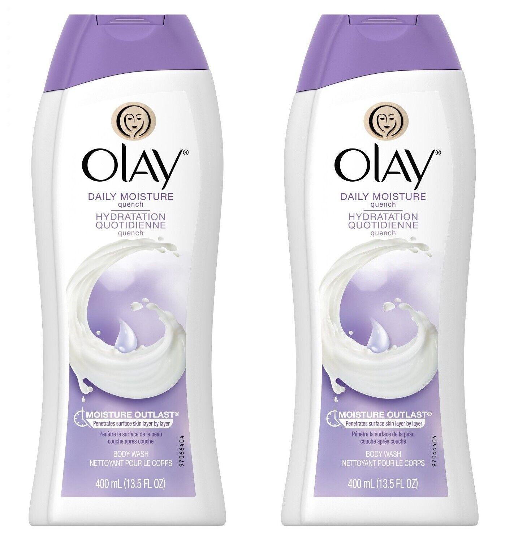 Olay Daily Moisture Quench Moisturizing Body Wash, 13.5 ounc