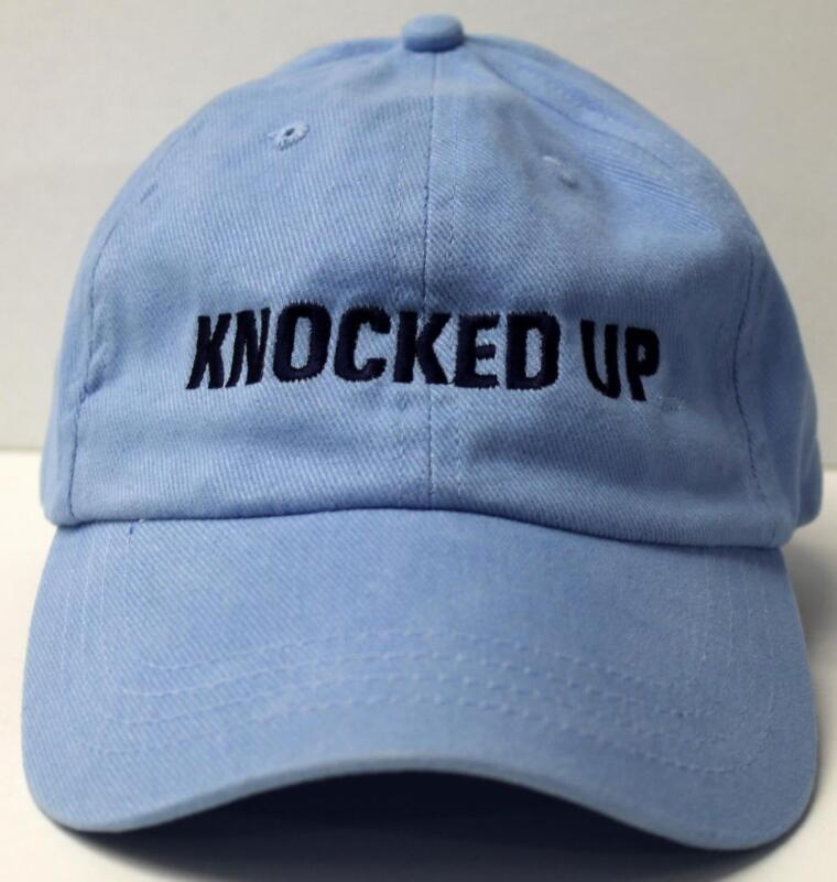 KNOCKED UP - MOVIE PROMO HAT - One Size Fits All - NEW w/out TAG Promotional CAP