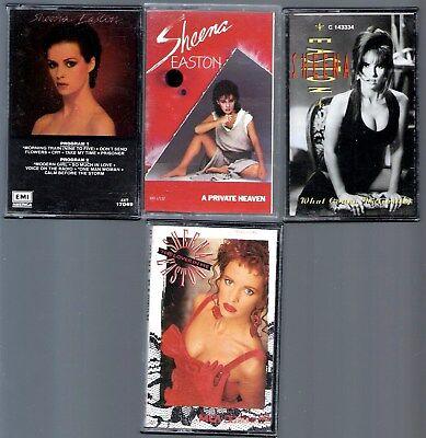 Sheena Easton 3- Cassettes  1 Cassette Single