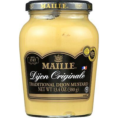 Maille Dijon Originale Mustard, 13.4 Ounces, Pack of 6 - Maille Dijon Mustard