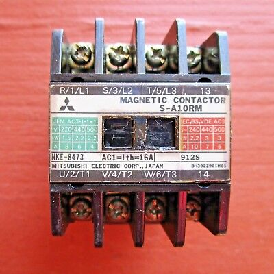 Mitsubishi S-a10rm Magnetic Contactor