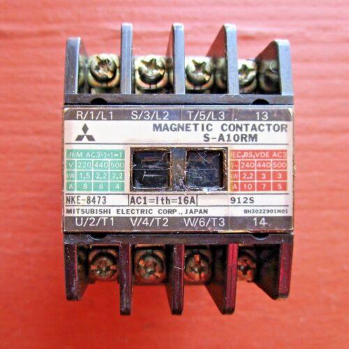 Mitsubishi S-A10RM Magnetic Contactor
