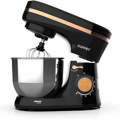 Electric Tilt-Head Countertop Food Stand Mixer 8 Speeds 4.7QT Home Kitchen Black