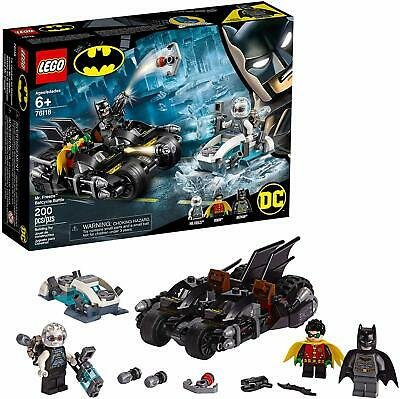 NEW LEGO DC Super Heroes 76118 Mr. Freeze Batcycle Battle