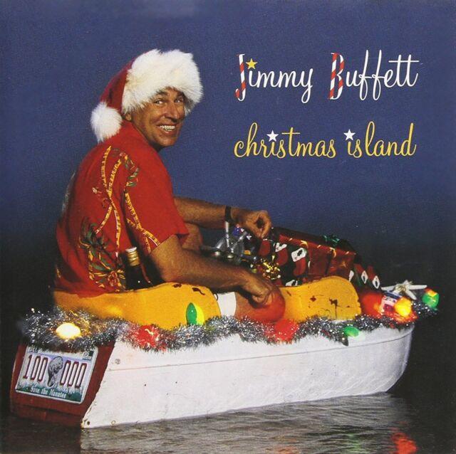 JIMMY BUFFETT - CHRISTMAS ISLAND  - CD - Sealed