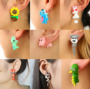 1Pair-3D-Women-Girls-Cute-Animal-Cat-Dog-Ear-Stud-Earrings-Set-Party-Jewelry
