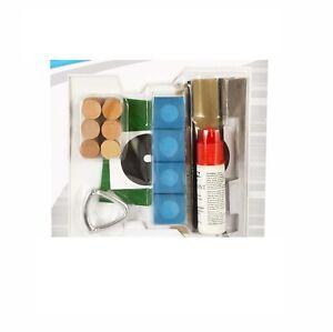 Deluxe Pool Table Cue Tip Repair Kit Billiard Stick Service Repair Accessories