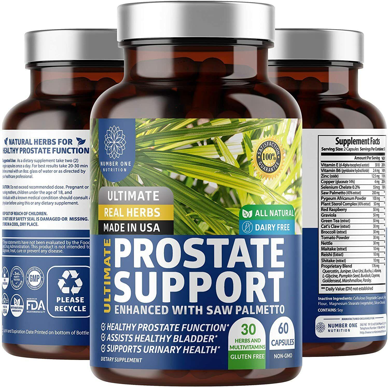 #1 Pastillas Medicamentos Naturales Para La Prostata.Inflamada Capsulas Remedio