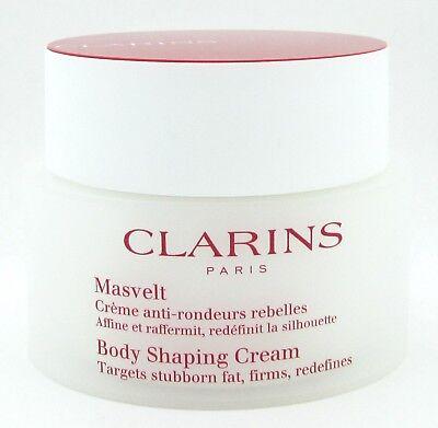 Clarins Body Shaping Cream 6.4 oz./ 200 ml New NO BOX 200 Ml Body Cream